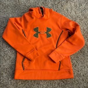 Under Armour Safety Orange Hoodie
